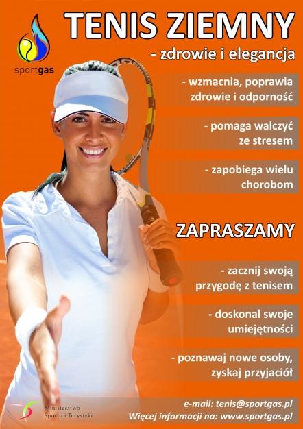 Tenis plakat